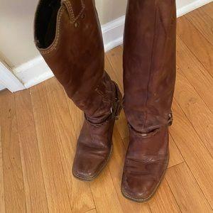 Vintage ladies high cut boot